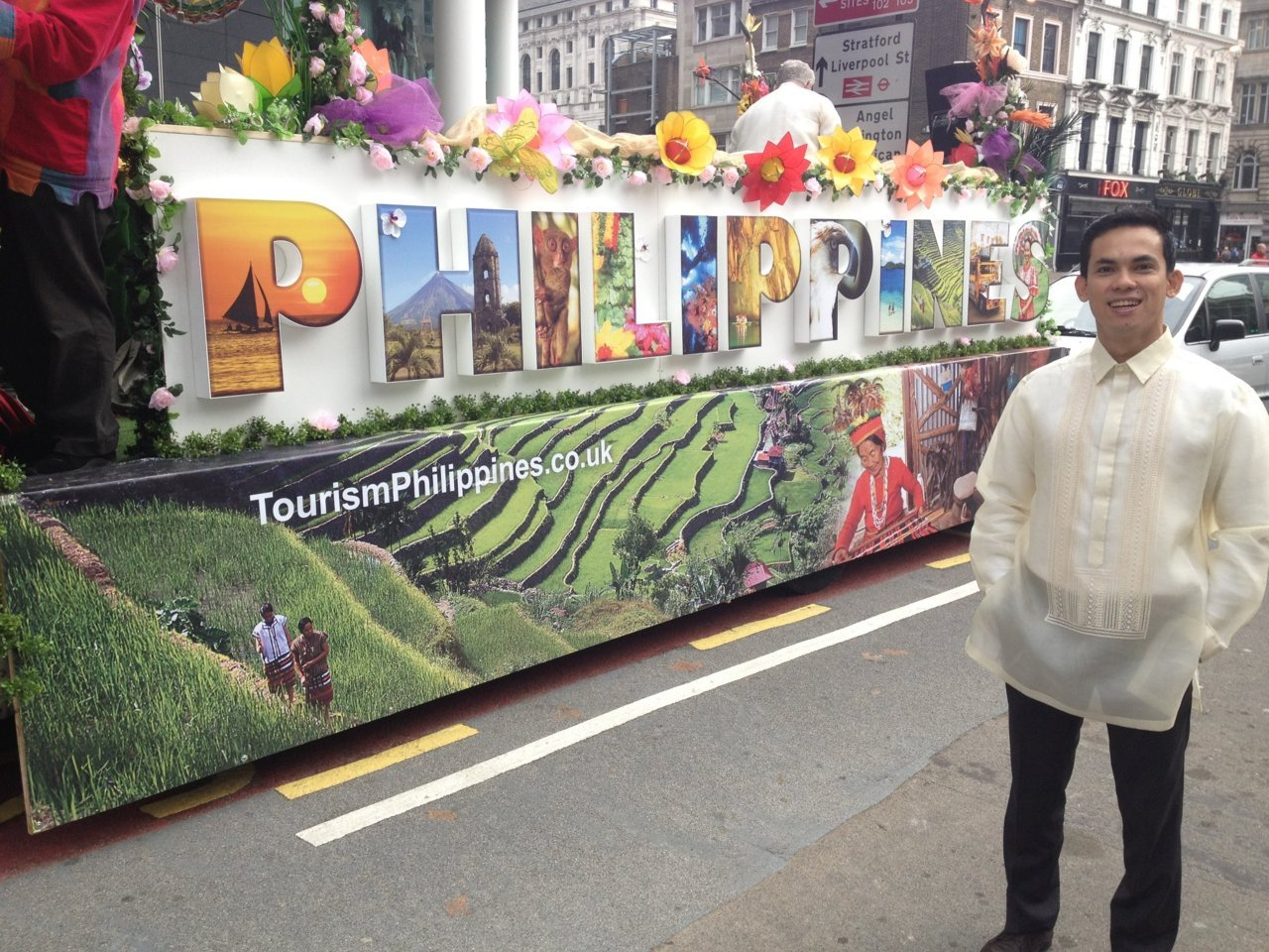 One Filipino's Roderick Enriquez designed this year's Philippine float to the Lord Mayor's Parade.