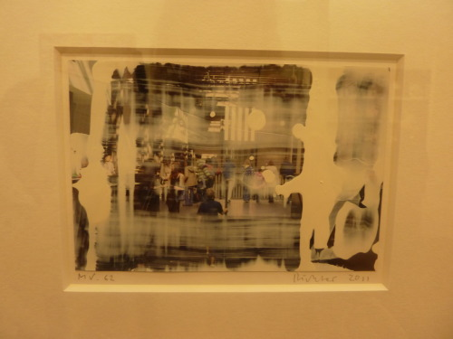 ahhh Gerhard Richter (cost me a tenner to see but so worth it)