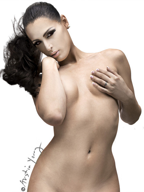 Carmen Carrera Nude Pin-up by Austin Young on sale for one more day at Fab.com
