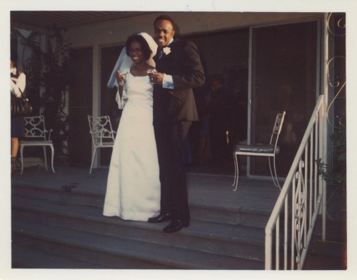 The Happy Couple Wichita, KS, 1960's [Black Bride Series] ©WaheedPhotoArchive, 2011