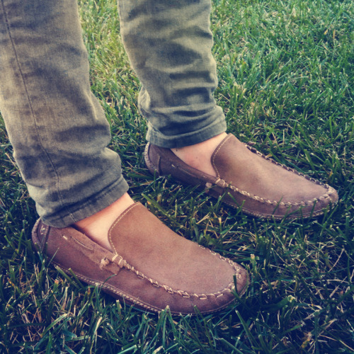 New John Varvatos Driving Moccasins! -SAM