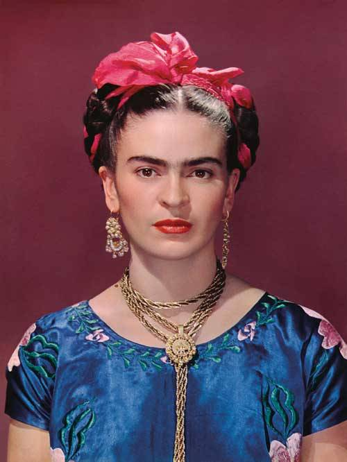 hollyhocksandtulips:  Frida Kahlo by Nickolas Muray  Dream look, right there.