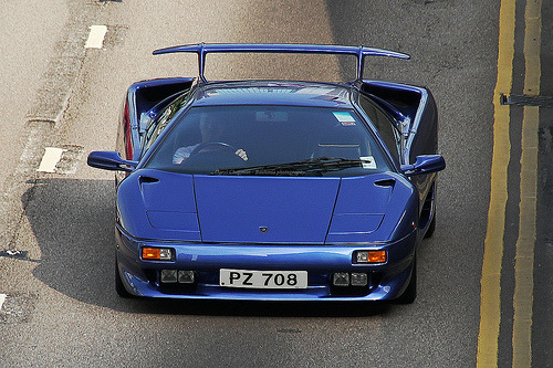 Lamborghini Diablo VT. Photo by Daryl Chapman.