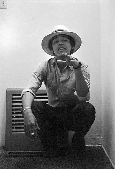 eclecticallyjai:  lethalpleazure:   Barack Obama circa 1980.  This!  Dopest president to ever grace the nation!