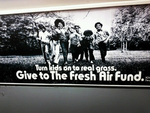 1970s subway ad for grass