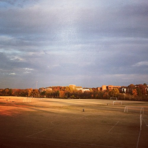 Soccer Fields (Taken with instagram)