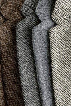 grammasteez:  J Crew tweeds and herringbone