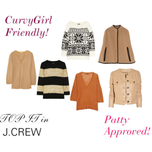 CurvyGirls with STYLE Can Rock Some J.Crew by patty-hughes  CurvyDolls!  J.Crew happens to be one of my favorite retail stores.  If it works for Mrs O it works for me! —-  And J.Crew can work for you too!  Most styles go up to size 16!  Who knew?!  PattyOnSite!