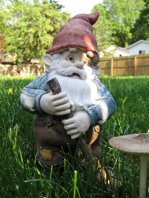 Gnome by BrianAdams2010 on Flickr.