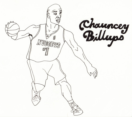 This is the jersey Chauncey should be in!