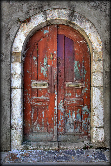 Church door,Crete