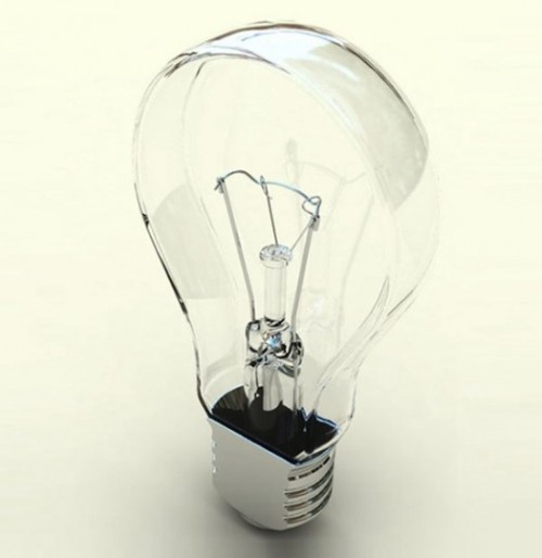 parsonsees:  (via flat light bulb, design, lighting, interiors | Curatedmag.com)