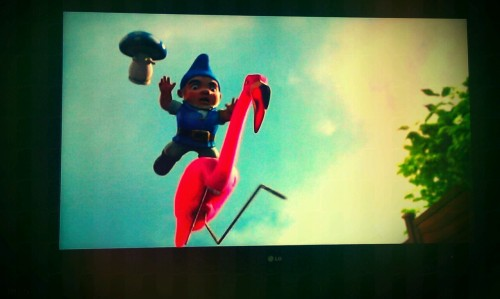 Gnomeo and Juliet….