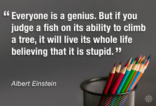 Yes…Einstein was a genius! :)