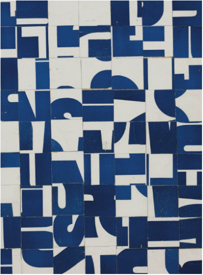 mrkiki:  Carl Andre Untitled.1958-1963printed paper collage on board17 5/8 x 13½ in. (44.7 x 34.2 cm.)