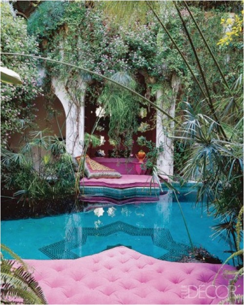My Bohemian Home ~ Outdoor Spaces   Source unknown