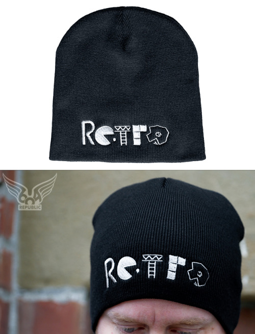 """RETRO beanie"" now available at 604Republic - click here."