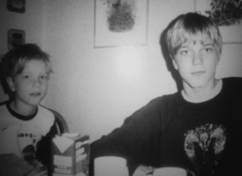 "vepharia:  Per Yngve ""Dead"" Ohlin and his brother."