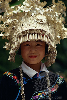 ethnoworld:  Miao girl,China