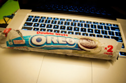 OREO double stuff! Its taste so awesome than original one :)