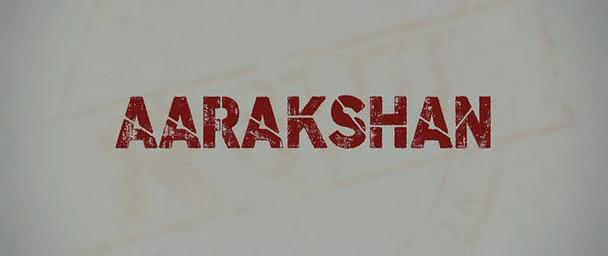 Aarakshan (2011) Dir: Prakash Jha  via imdb