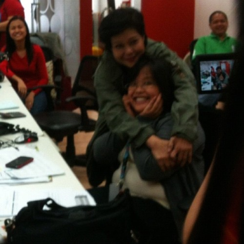 Superstar hugs Talyn! (Taken with instagram)