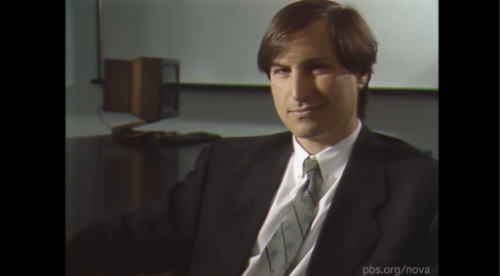 NOVA  An Interview With Steve Jobs Watch a rare interview with the late Apple visionary, conducted in 1990. so great.