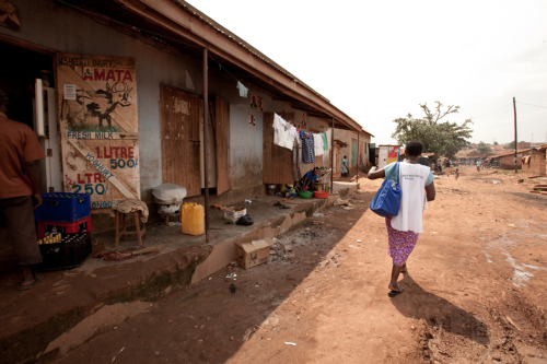 Sarah Nakyambadde, a Community Health Promoter, walks door-to-door selling affordable health products. Learn more at www.theadventureproject.org. Photo by Esther Havens.