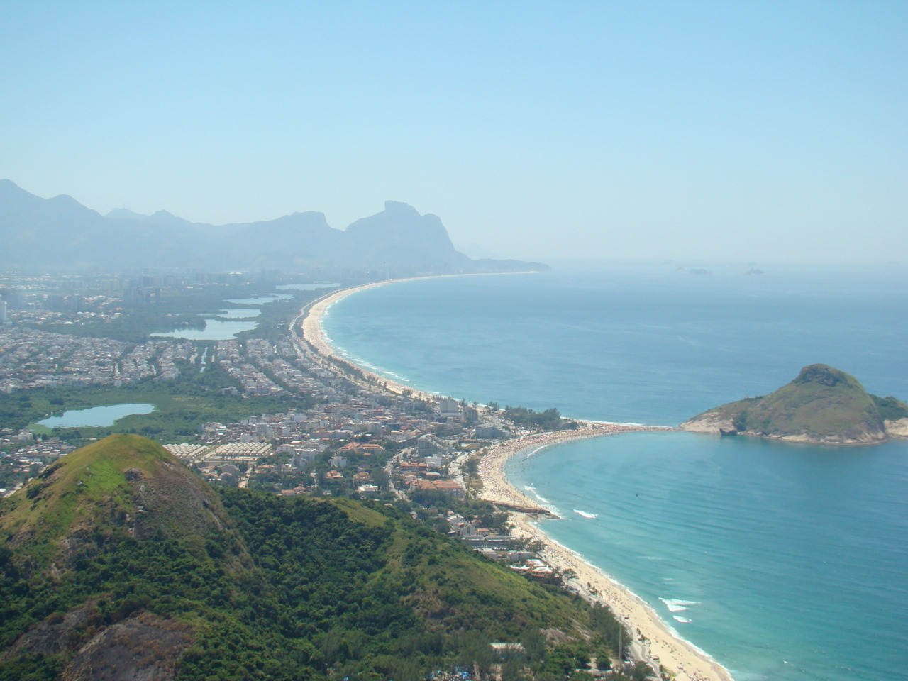 The other side of Rio. The best for surf, seafood, shopping. And the wildest beach of the city - Grumary.
