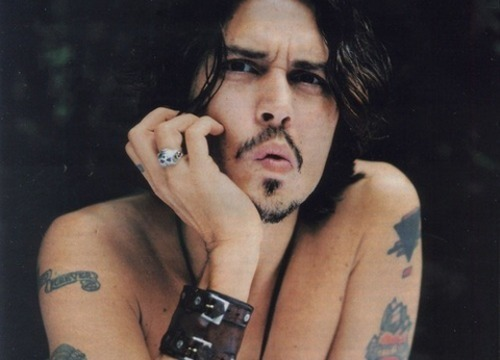 iget-allthegirls:  Would probably go gay for Depp, not gonna lie.