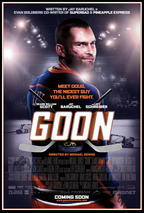 dailyblam:  NEW POSTER FOR THE HOCKEY COMEDY GOOD FEATURING SEAN WILLIAMS SCOTT for more details and the movie trailer, click here   Jay is in it?!? Ah I love him(:
