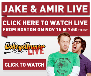 Not in Boston tonight? You can watch our show at the House of Blues live here!
