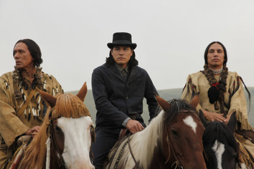 Wes Studi, Eddie Spears and Gerald Auger in Hell on Wheels
