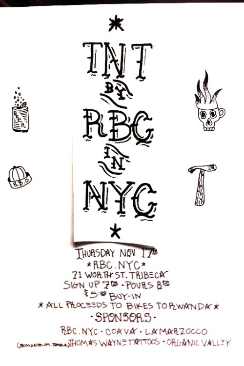 NOVEMBER 17th: TNT NYC at RBC NYC