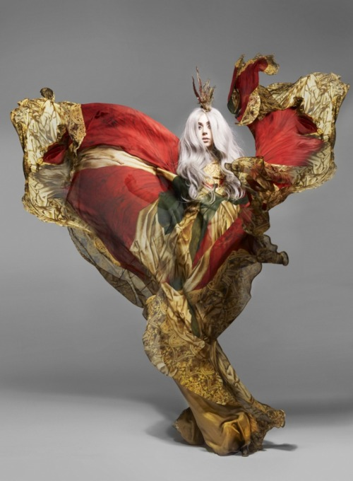 hypercubeh7:  Gaga - Vanity Fair - Nick Knight - 2010