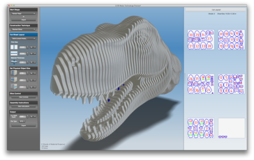 futuramb:  smarterplanet:  Autodesk bringing 3D modeling to the masses | CNET News You may not know CAD, but if you've got a computer, you can now start creating 3D models. That's the idea behind 123D Catch and 123D Make, two new free software  applications that Autodesk is planning on releasing on Monday. The two  programs join the company's existing iPad app, 123D Sculpt,  as part of a family of tools that are intended to give just about  anyone the ability not just to make their own 3D designs, but also to  get them produced as real, physical models. Autodesk unveiled the two new applications at a press event at its  innovation center here today, making the argument that just about anyone  can now play the role of 3D modeler that has traditionally belonged to  CAD experts and other professional designers. With 123D Catch, a user can take any digital camera and use it to  photograph a real-world object. By snapping a few dozen pictures from  angles all around the object and then uploading them to Autodesk's  cloud-based system via the software, the user can within minutes get  back a 3D model of the object. Autodesk will process the model at no  charge.  This is of course feeding into he the 3D printing development as well.
