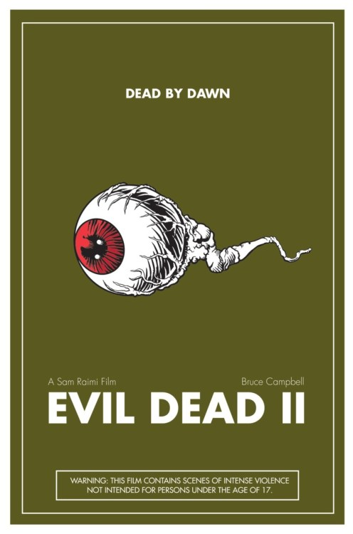 Evil Dead II made by Corey Dukes