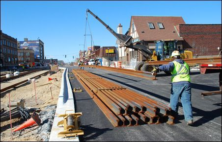 The good news about the Central Corridor LRT (yes, really) Speedy progress is being made, and portions of the project are coming in under budget.