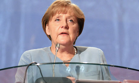 Angela Merkel recalls the time when she wet herself on stage during the school nativity