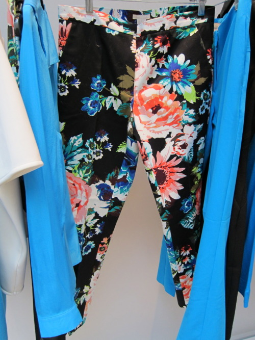 The cutest floral pants (and neon blue separates!) from H&M's spring 2012 collection.
