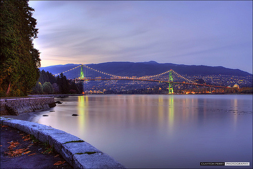 ifckinglovevancouver:  Lions Gate Bridge (by Clayton Perry Photoworks)