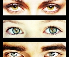robert , kristen and mackenzie's eyes