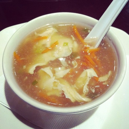 Egg drop soup (Taken with instagram)