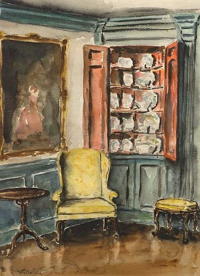 Walter Gay The China Cabinet Late 19th - early 20th century