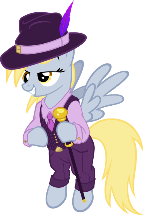 blankapplebloom:  Derpy's Got Swag by MoongazePonies