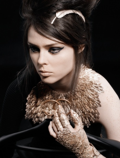 Coco Rocha for Chanel Pre-Fall 2008.
