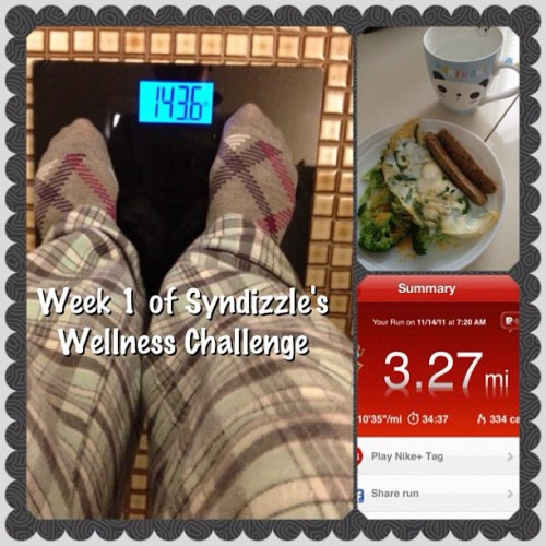 Starting my own #wellnesschallenge for the Holiday Season! I'll weigh in once a week just so I can make sure all that #candy and #holiday #food doesn't take over. Feel free to show me your #fitness and #diet pictures by including the #wellnesschallenge hash tag! We can stay #fit throughout the holidays together!! #fitnessfreak #instagram #healthnut #igfitness #ig #igdaily #workout #challenge #instamood  (Taken with instagram)