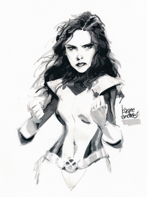 Kitty Pryde by Kaare Andrews