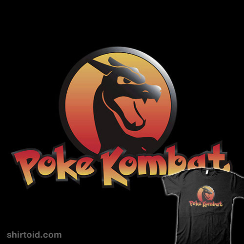 Poke Kombat available at RedBubble
