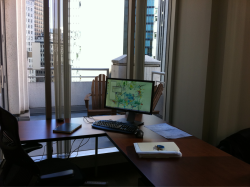 My new office in SF